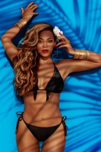 Beyonce in a bathing suit